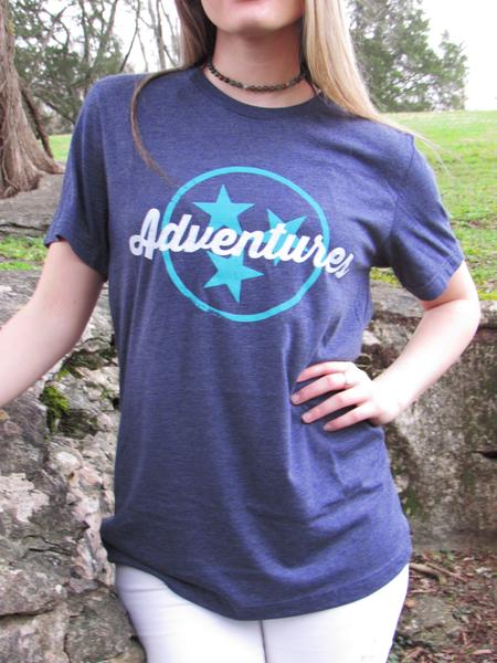 Short Sleeve Tri-star Adventures / Ladies