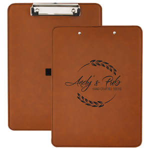 Leatherette Clip Board