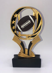 Football MidNite Star Resin 6""