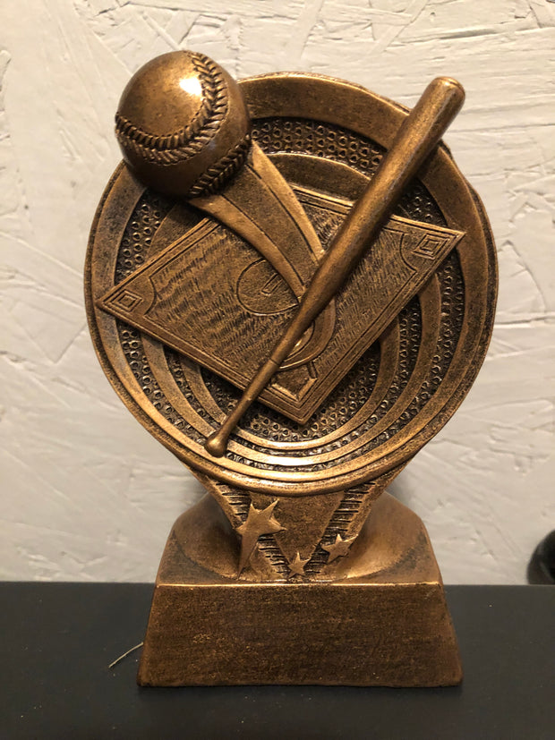 Baseball Saturn Resin Trophy