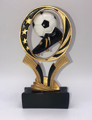 Soccer MidNite Star Resin 6""