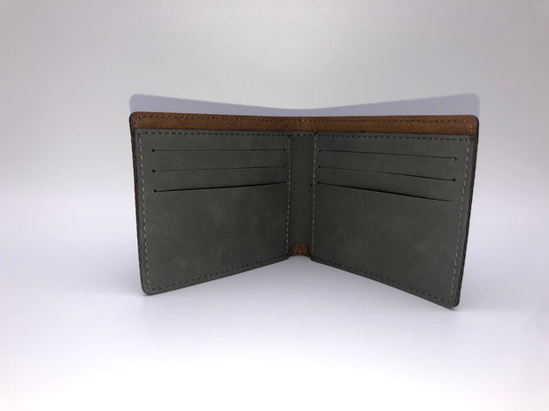 Leatherette Bifold Wallet
