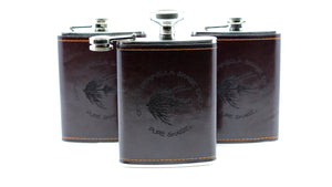 OPST Leather-Bound Flask