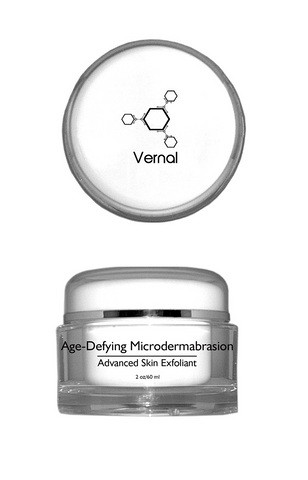 Vernal Age-Defying Microdermabrasion, Advanced Skin Exfoliator Scrub, Evens Out Skin Tone, Improve Skin Texture Reduce Acne & Get Rid Of Blackheads
