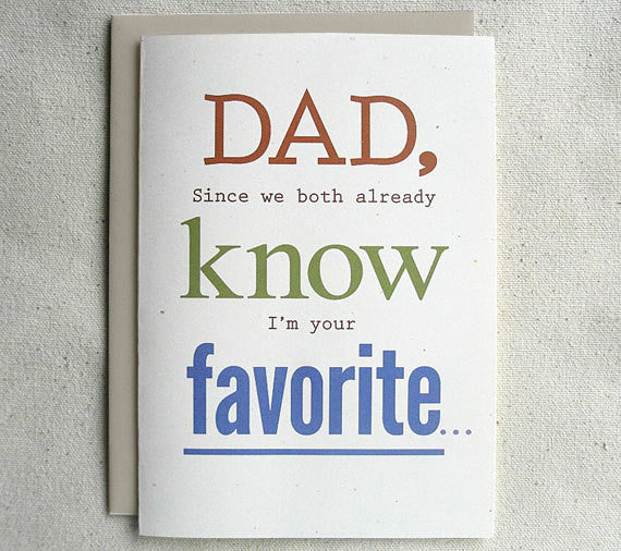 Father Birthday Card Funny Dad Since We Both Already Know Im Your