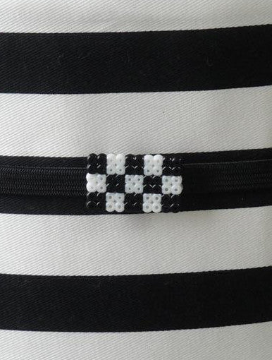 Obidome - Checkers (Black/White)