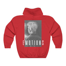 Load image into Gallery viewer, EMOTIONS Inverted Hoodie - Red