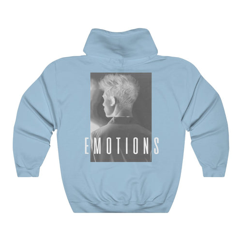 EMOTIONS Inverted Hoodie - Blue