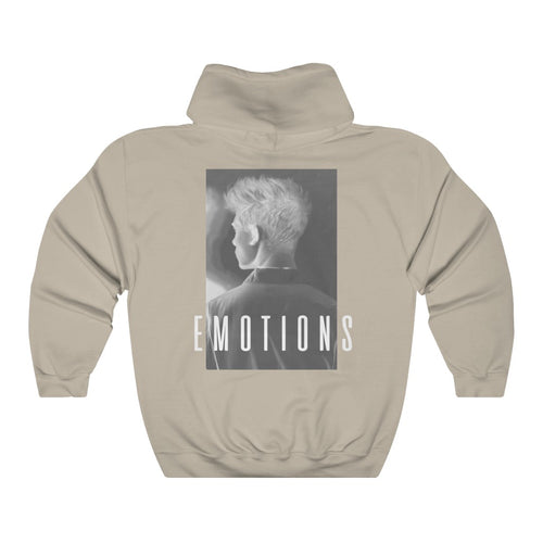 EMOTIONS Inverted Hoodie - Sand