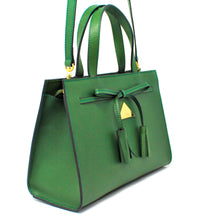 Load image into Gallery viewer, The Bahli Tote - Emerald