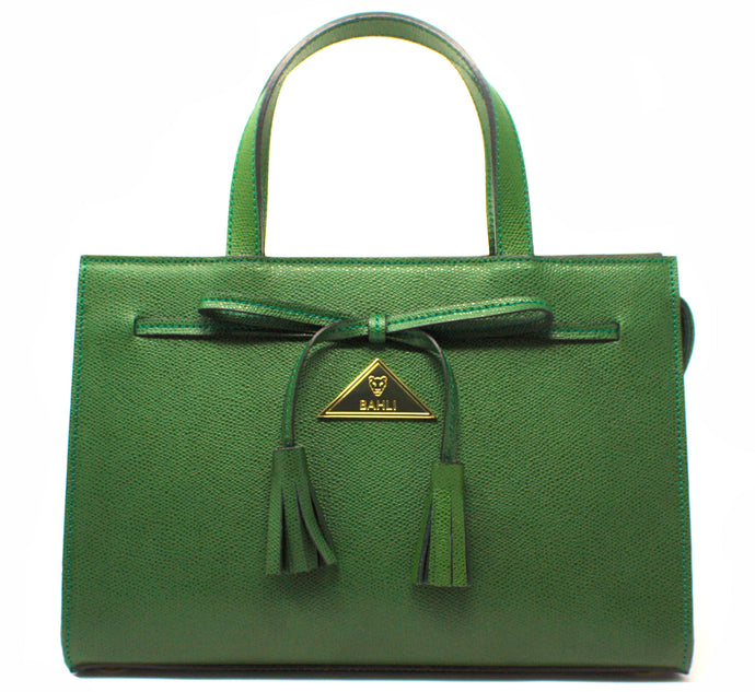 The Bahli Tote - Emerald