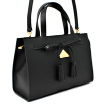 Load image into Gallery viewer, The Bahli Tote - Mystic Black