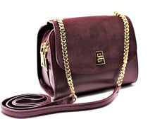 Load image into Gallery viewer, Melania Crossbody - Vino Rosso