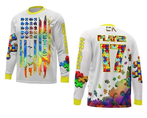 Autism Jersey Long Sleeve