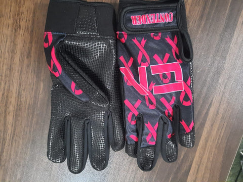 Breast Cancer Batting Gloves
