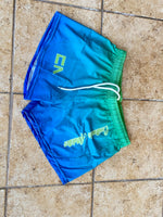 Ladies PS 4 Way Stretch Shorts Ombre Collection