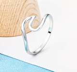 Tidal Wave Ring Sterling Silver
