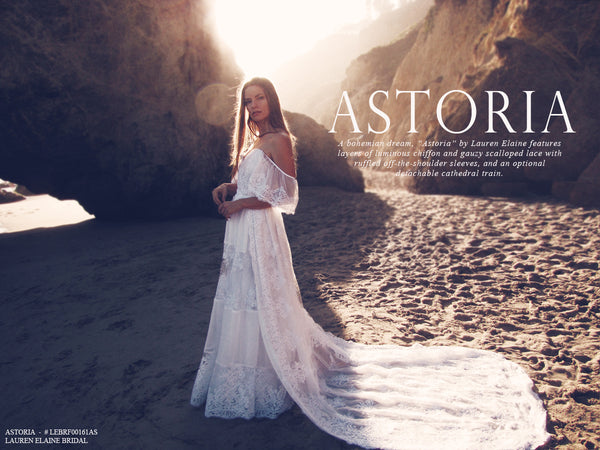 Astoria by Lauren Elaine Bridal Lookbook