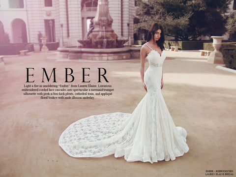 Ember wedding gown by Lauren Elaine Bridal look book cover image