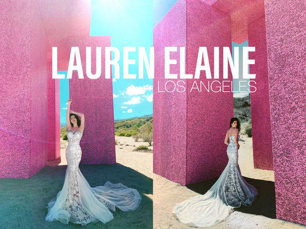 Lauren Elaine Bridal Customizable Wedding Dress and Bridal Gowns in Los Angeles