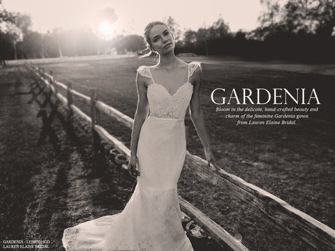 Lauren Elaine Gardenia Gown Lookbook
