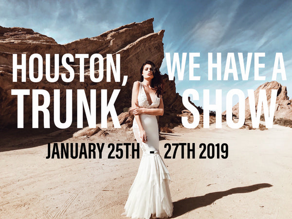 Lauren Elaine Bridal Houston Trunk Show January 2019
