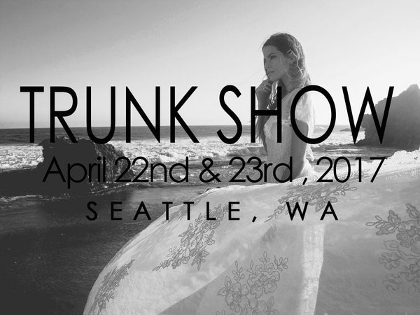 Book an appointment at the Lauren Elaine Bridal Trunk Show in Seattle, Washington