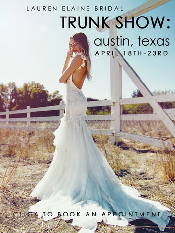 best texas bridal salon trunk shows 2017 austin lauren elaine bridal book an appointment