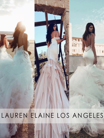 Mermaid_wedding_dresses_at_the_Lauren_Elaine_Bridal_Salon_in_Los_Angeles