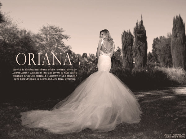 Oriana by Lauren Elaine Bridal Lookbook