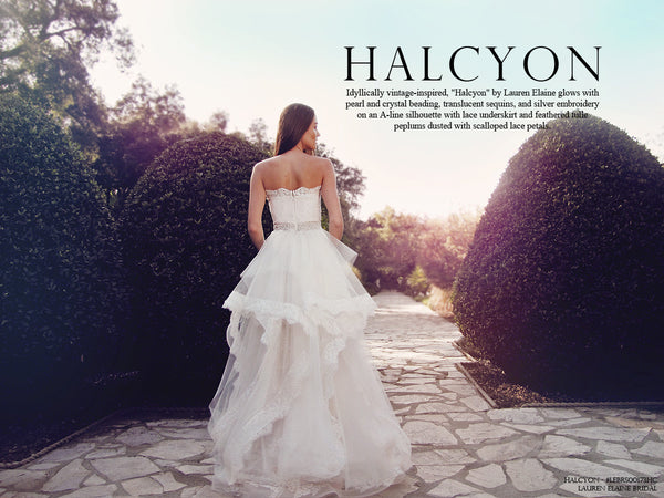 Halcyon by Lauren Elaine Bridal Wedding Dress Lookbook