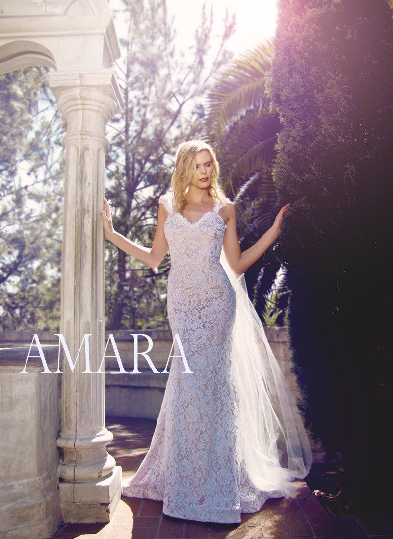 Amara by Lauren Elaine Bridal Wedding Dress