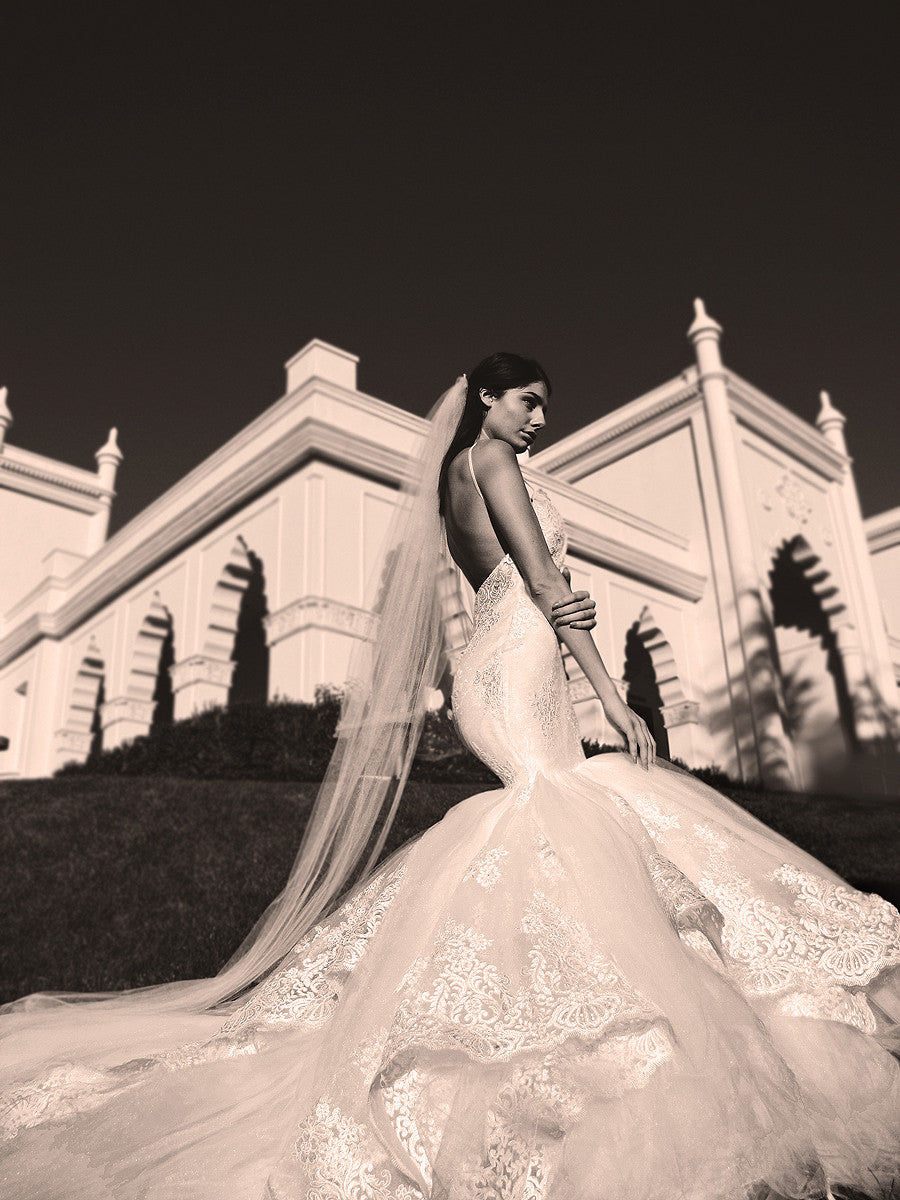 Arabelle wedding gown by Lauren Elaine Bridal