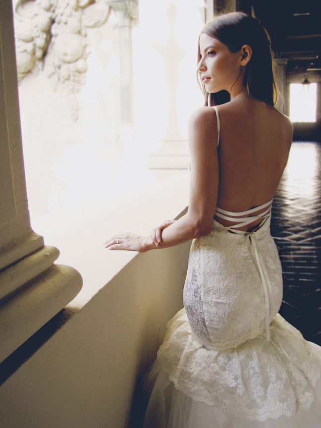 Lace Open up back wedding dresses recommendations to wear for summer in 2019