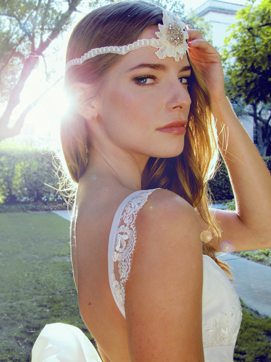 Briarleigh by Lauren Elaine Bridal. Ethereal wedding gown.