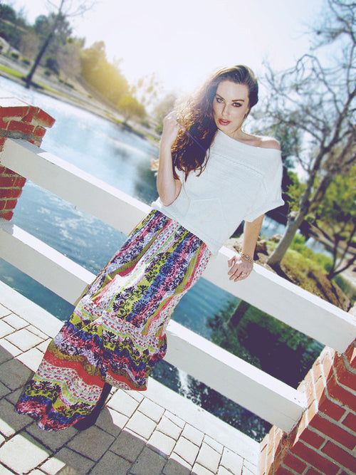 "LAUREN'S PICK: The ""Medallion"" Maxi Skirt"