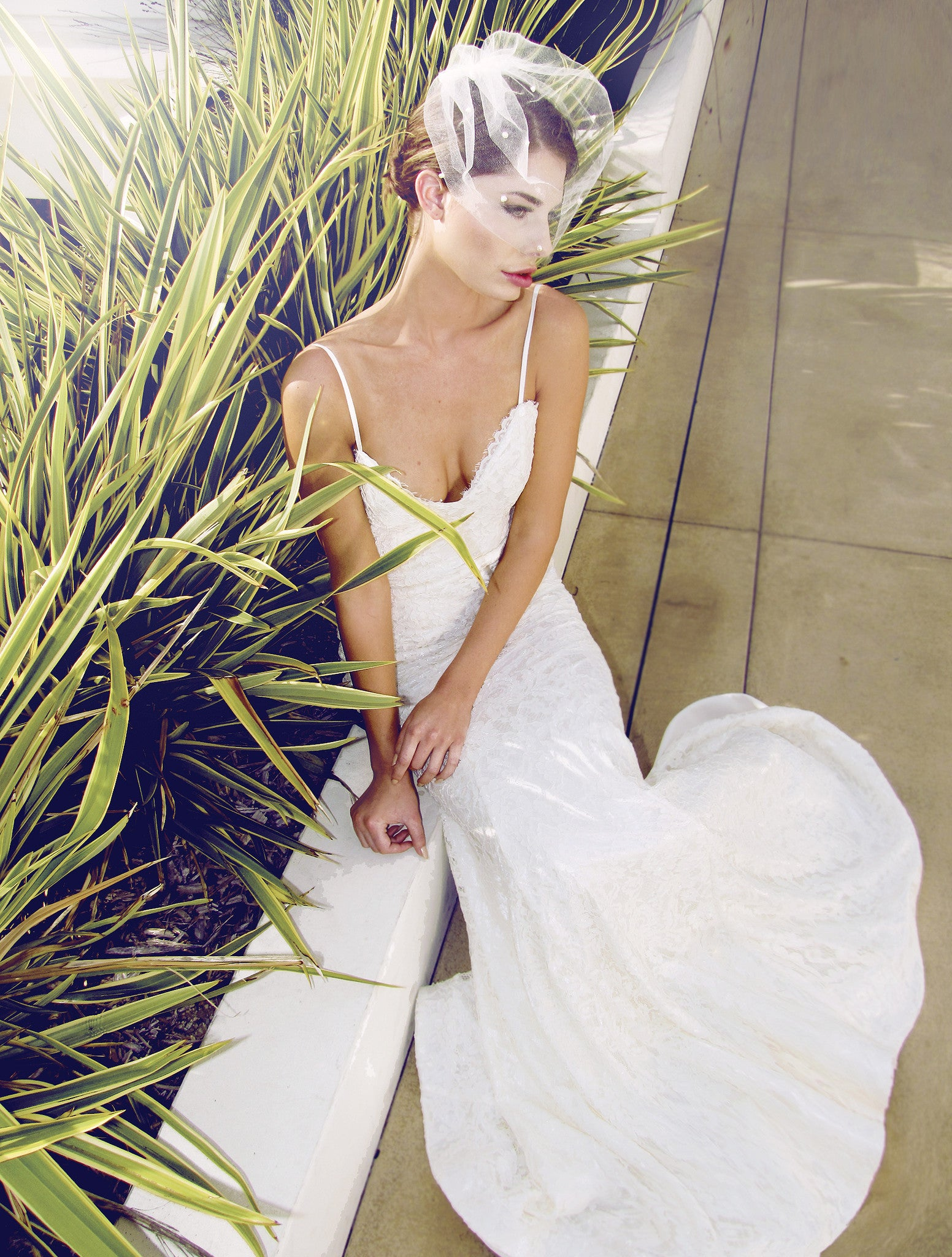 Destination and beach wedding gowns. Bohemia bridal style from Lauren Elaine.