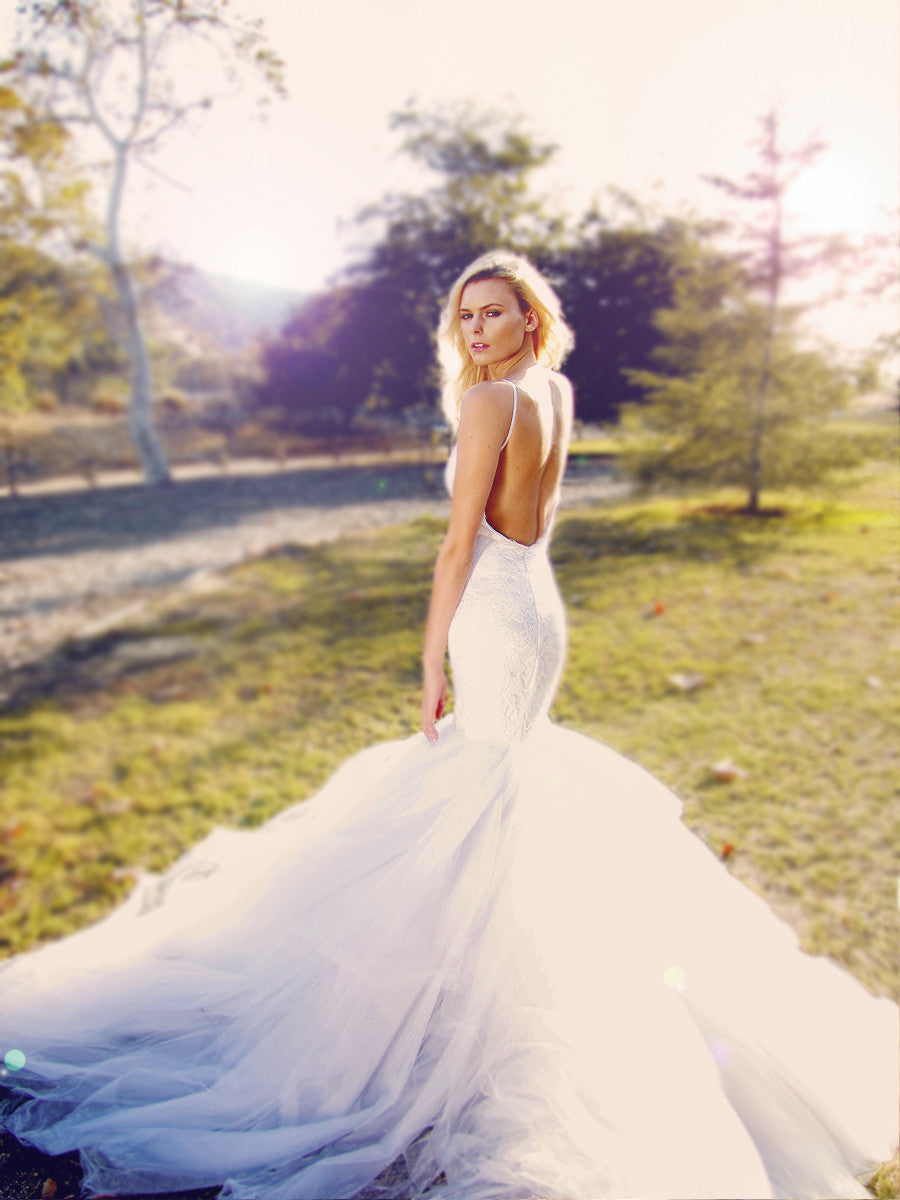 Jasmine by Lauren Elaine Bridal. Couture bridal by Lauren Elaine.