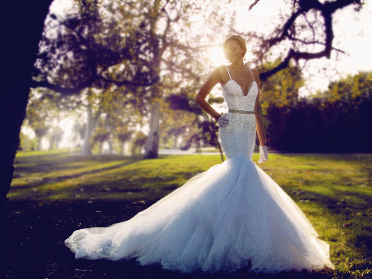Jasmine by Lauren Elaine Bridal. Celebrity bridal designer in Los Angeles, CA.