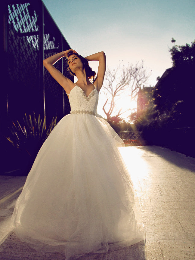 Bellara Gown by Lauren Elaine Bridal