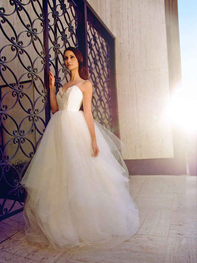 princess wedding dresses by Lauren Elaine Bridal in Los angeles, Ca