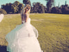 Lauren Elaine Lotus Bridal Gown, made in the usa, affordable, fairytale dress