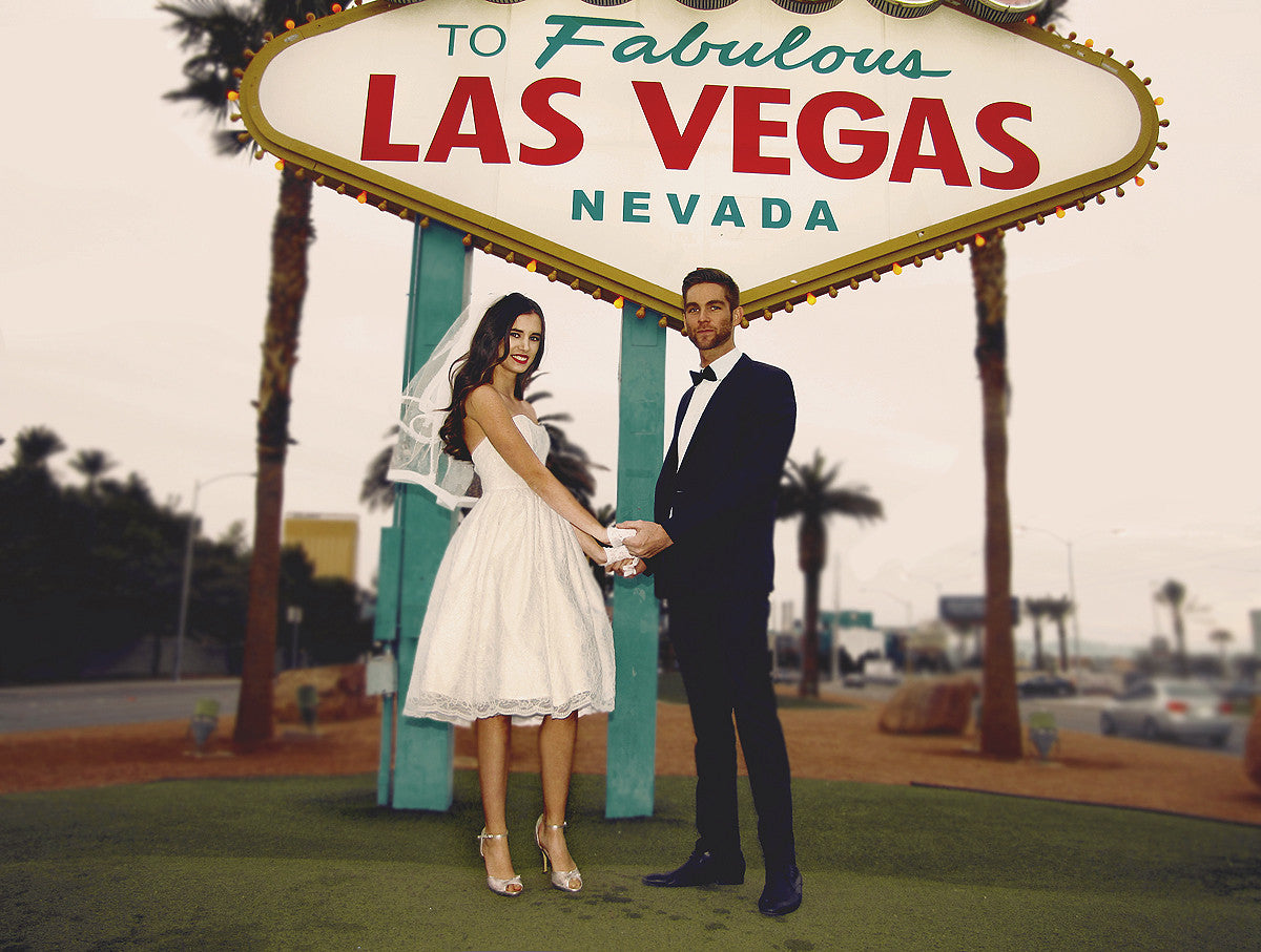 Las Vegas wedding editorial. Reception Collection by Lauren Elaine Bridal.