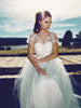 Lauren Elaine Briar Rose Gown, Illusion Lace Wedding Dress