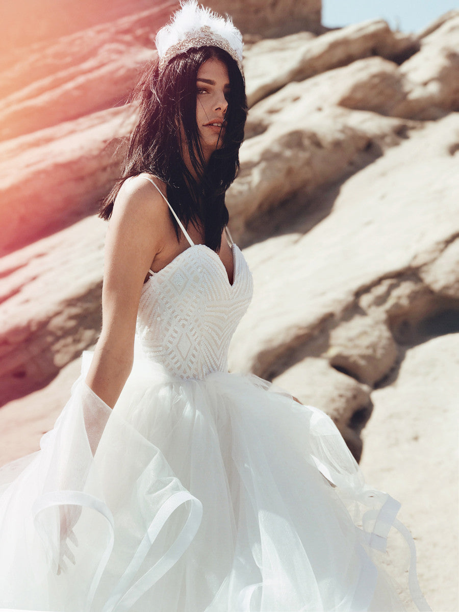 sequin wedding dresses and gowns in los angeles, ca