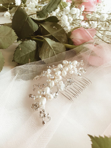 LAUREL Bridal Hair Vine