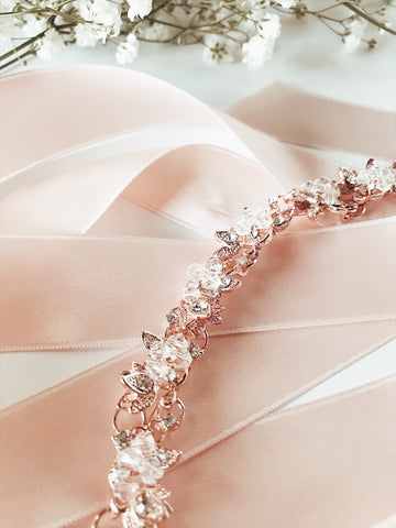 HONEYSUCKLE Bridal Hair Comb