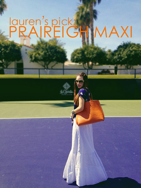 "LAUREN'S PICK: The ""Praireigh"" Maxi Skirt"