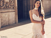 Sexy bohemian wedding dress by Lauren Elaine Bridal