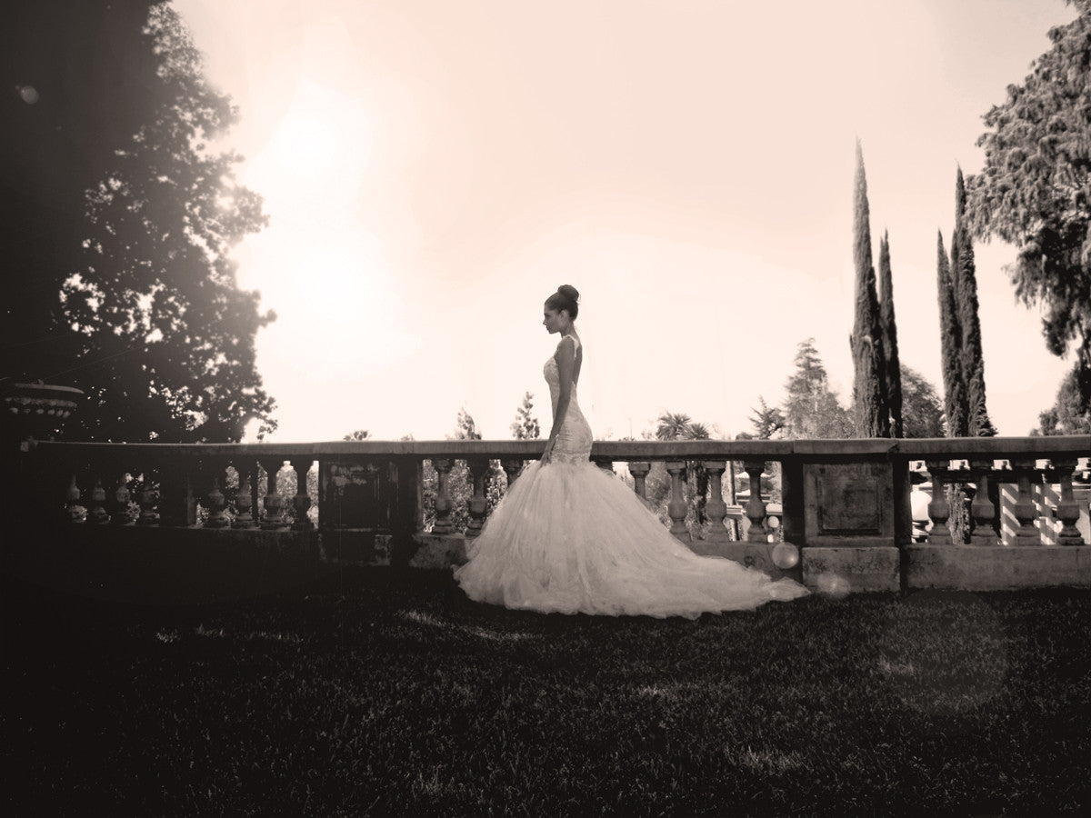 Vintage inspired bridal. Wisteria gown by Lauren Elaine Bridal.